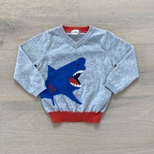EGG - cotton shark sweater